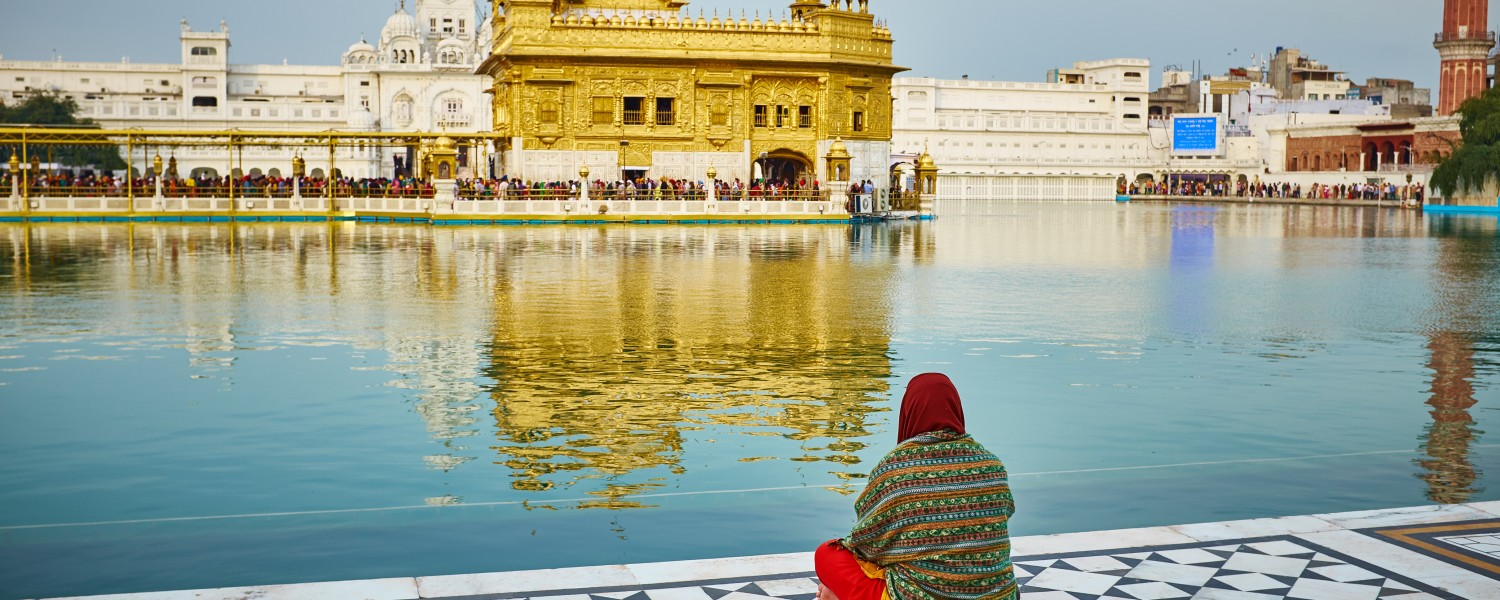 <p>Marvel at the Golden Temple in Amritsar</p>