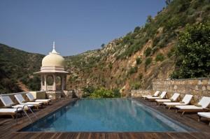 Samode Palace7. Infinity pool