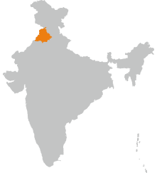 Small Map Punjab