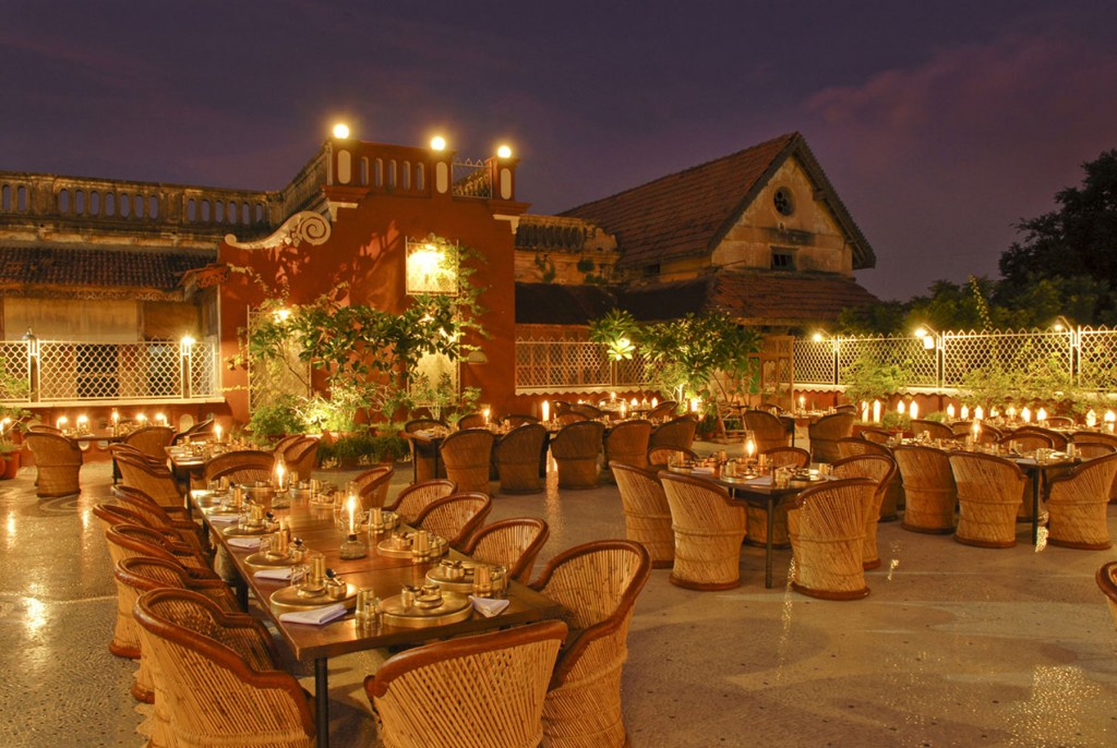 Great restaurants for foodies in india india unbound for Open terrace restaurants