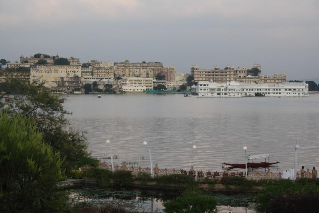 Udaivilas: City Palace and lake