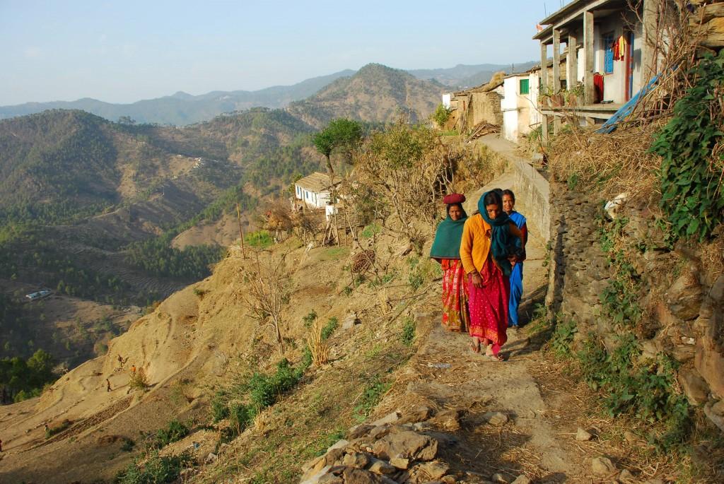Village walk 2