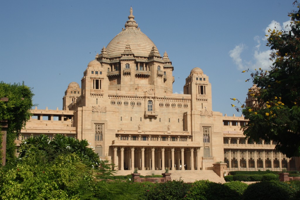 India's youngest palace: the beautiful Umaid Bhawan Taj hotel
