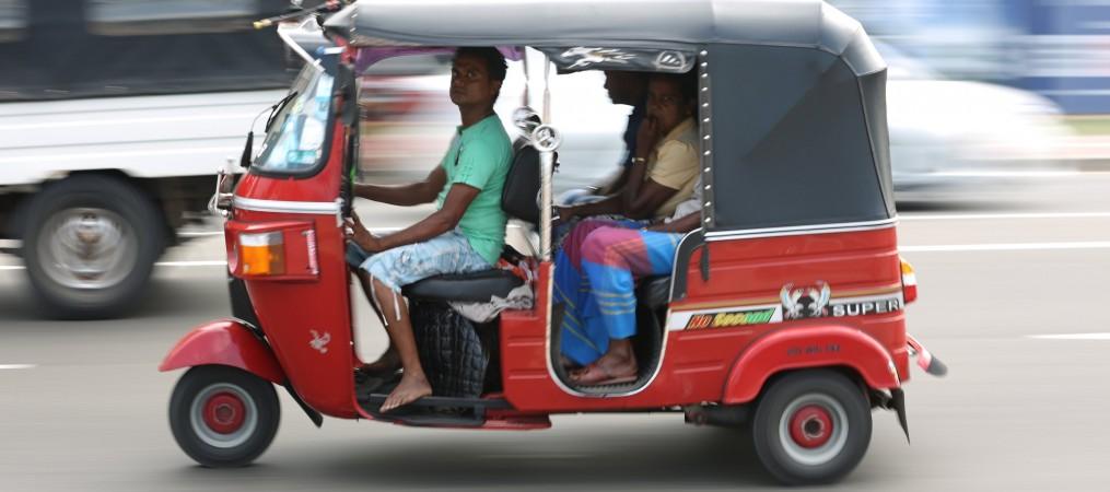 Tuk Tuk, Colombo, Sri Lanka