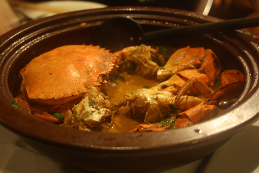 What a meal: crab curry at Ministry of Crab!