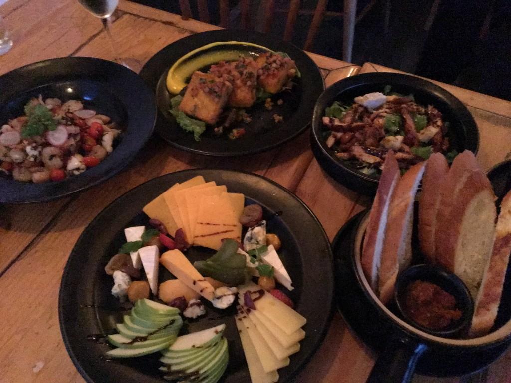 Dinner at Perch, Khan Market