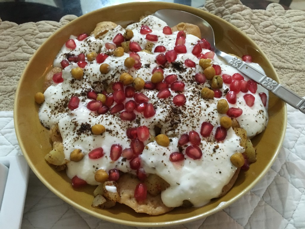 Paid Chaat - love it!