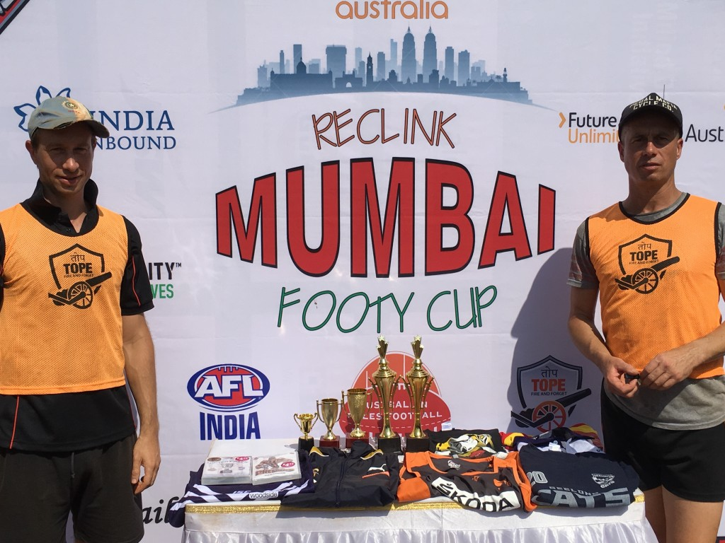 India Unbound Funds and Supports Aussie Rules in Mumbai