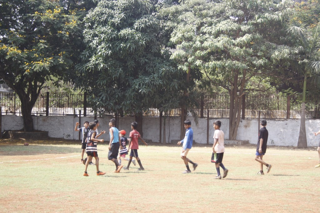 Reclink Mumbai Footy Cup: Junior Training Clinic