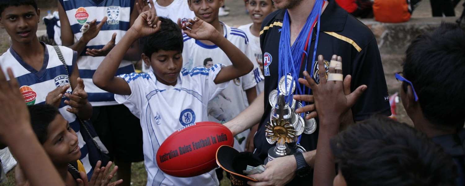 <p>Working with communities in India</p>