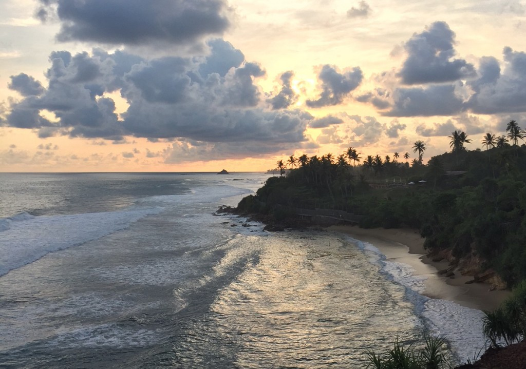 Sunset Sri Lanka: View from Cape Weligama luxury resort