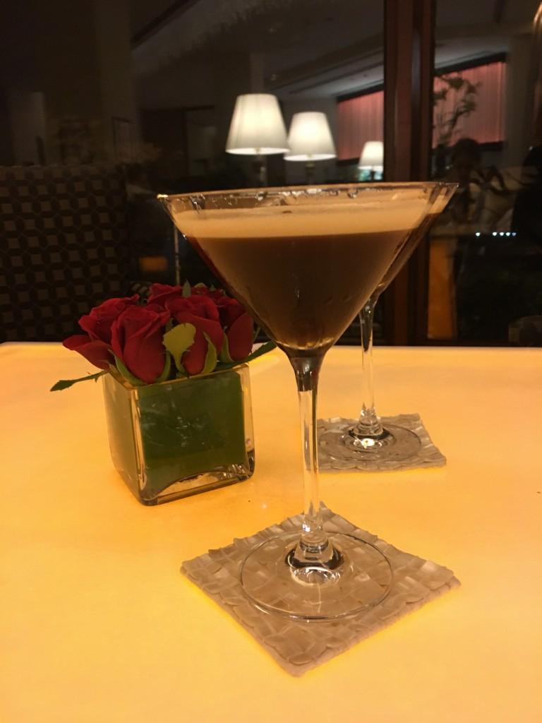A nightcap at the bar, Oberoi Mumbai.