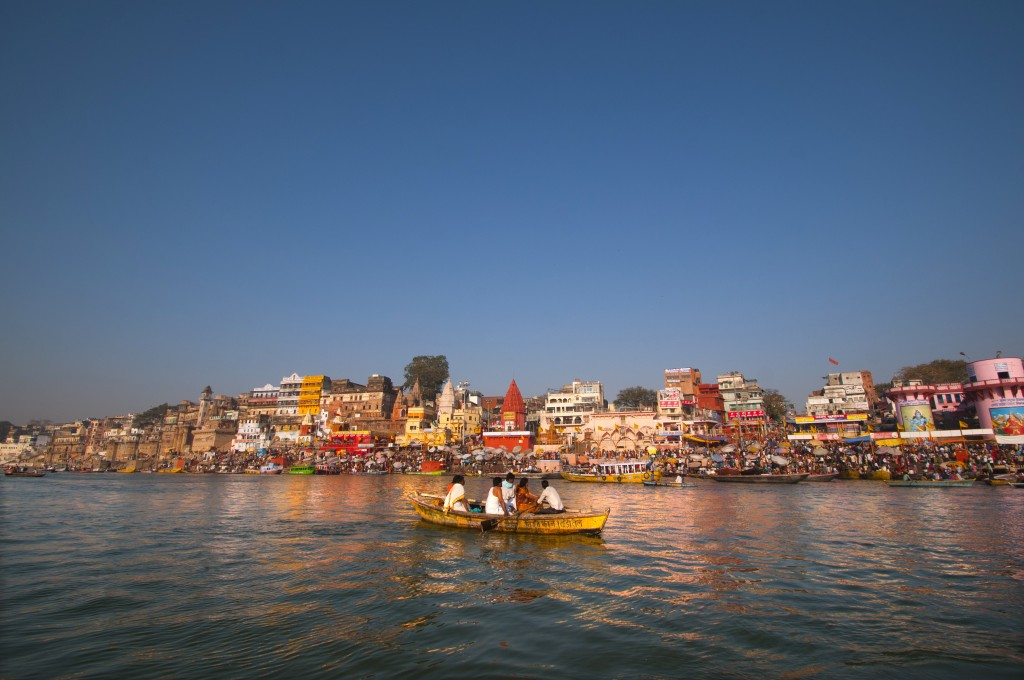 Morning on Gangas, Varanasi, Uttar Pradesh, India