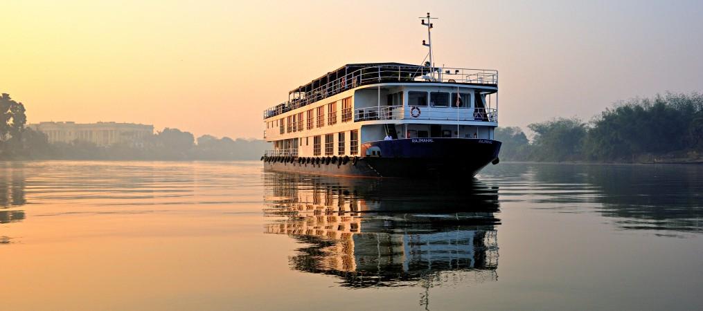 ABN Rajmahal Ship near Hazarduari Palace