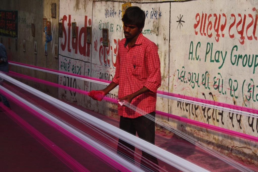 Kite String Maker, Ahmedabad