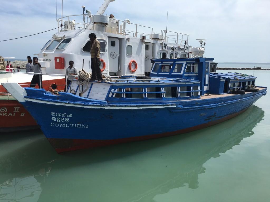 Ferry to Delft Island, Sri Lanka