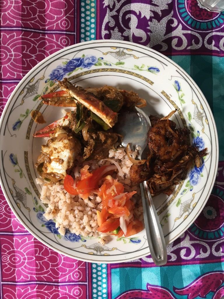Local Meal, Jaffna, Sri Lanka