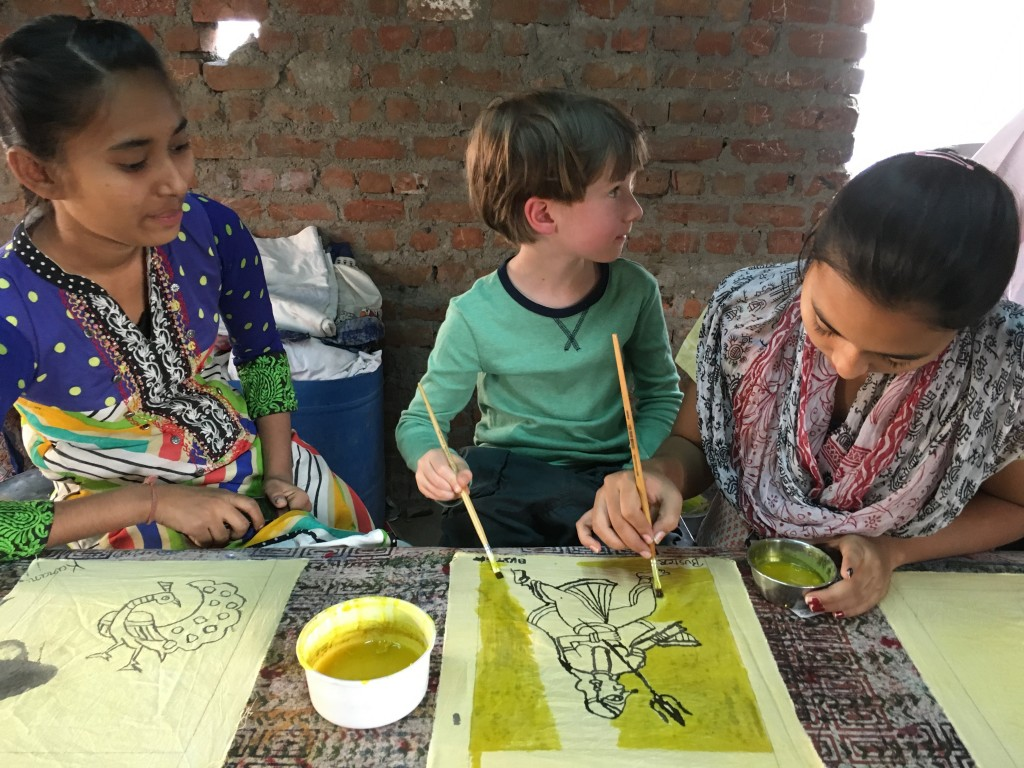 Workshops and hands on activities can be better and more engaging for children than touring monuments everyday.