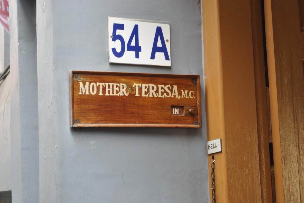 Mother Teresa sights, Kolkata INDIA