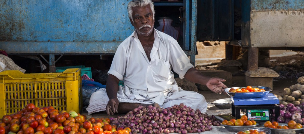 Vegetable Seller South India
