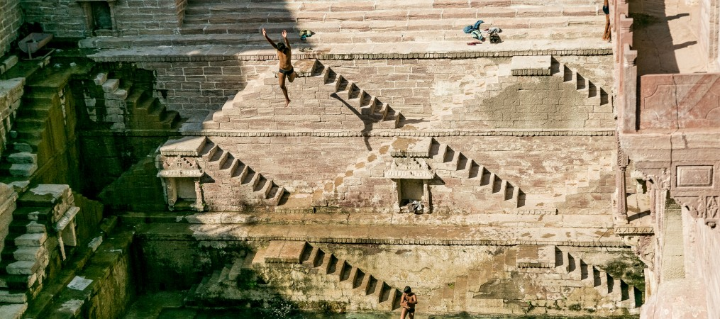 Step well India