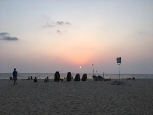 Marari Beach sunset