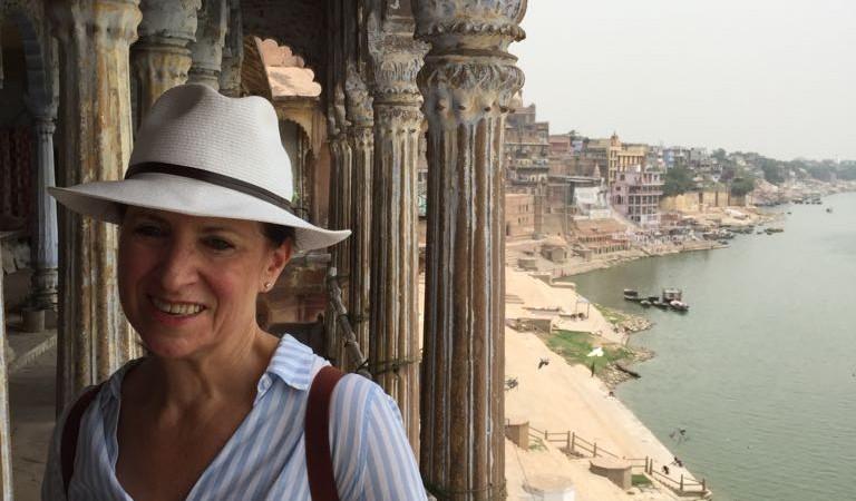 Glenda in Varanasi India