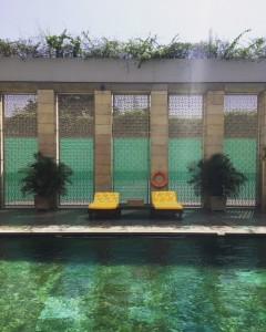 Lodi hotel pool, Delhi